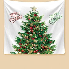 Christmas Tapestry Wall Hanging White Christmas Tapestry Wall Decor Home Hanging Picture for Bedroom Living Room Dorm Holiday Party