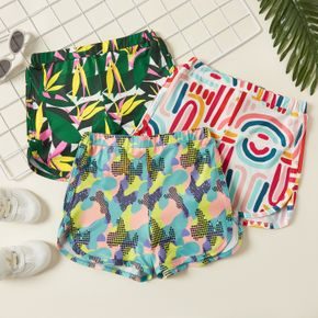 Multi-color Athleisure shorts for Toddlers / Kids