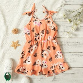 Combinaisons 一级分类 Fille Floral Polyester