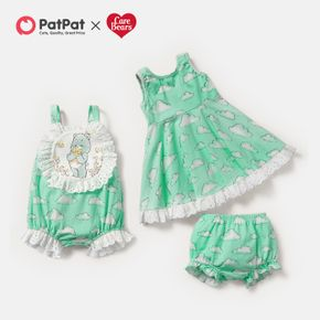 """Care Bears """"Wish Upon A Cloud"""" Cotton Sibling Dress and Romper"""