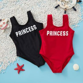Baby / Toddler Letter Solid One piece Swimsuit