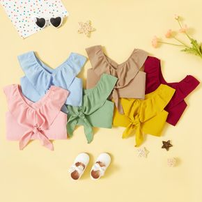 Toddler Casual Solid Camisole
