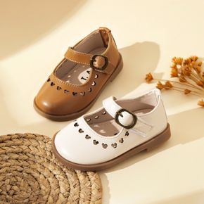Toddler / Kid Solid Hollow Out Buckle Closure Shoes