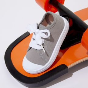 Toddler / Kid Solid Shoelace Closure Shoes