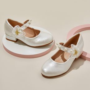 Toddler / Kid Pearls Bow Girl Ballet Shoes