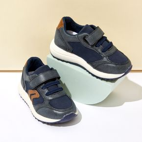 Toddler / Kid Velcro Closure Blue Casual Sport Shoes