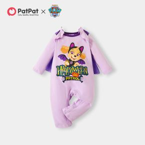 PAW Patrol Little Girl Halloween Skye Graphic Cotton Jumpsuit with Cloak