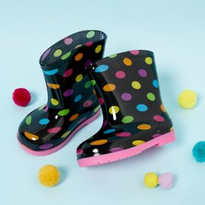Toddler / Kid Colorful Floral Print Rain Boots