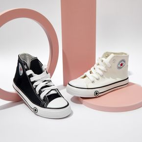 Toddler / Kid Stars Graphic Detail Classic Lace Up Front Canvas Shoes