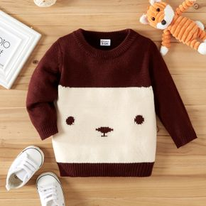Christmas Animal Pattern Baby Boy/Girl Long-sleeve Knitted Sweater Pullover