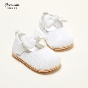 Baby / Toddler Solid Bowknot Prewalker Shoes