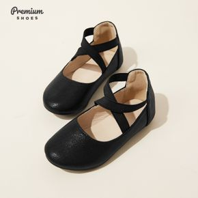 Toddler / Kid Solid Cross Band Slip-on Shoes