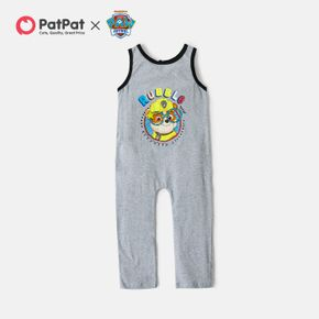 PAW Patrol Toddler Boy Rubble Graphic Cotton Overalls