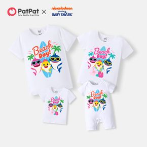 Baby Shark Family Fun Day Cotto Matching Tees