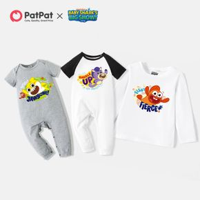 Baby Shark Silbings Jawsome Cotton Tee and Jumpsuit for Baby and Toddler