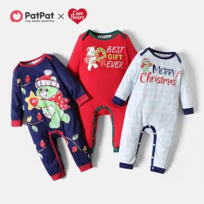 Care Bears Baby Boy/Girl Christmas Graphic Jumpsuit