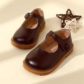 Toddler Minimalist Solid Color Velcro Shoes
