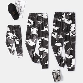 100% Cotton All Over Camouflage Family Matching Casual Pants