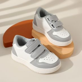 Toddler Two Tone Velcro Closure Non-slip Breathable Sneakers