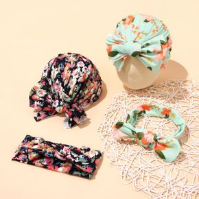 2-pack Bohemian Headband and Hat Set for Girls