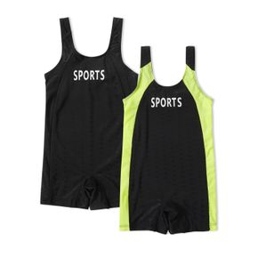 One-piece Stretchy Sport Swimsuit for Kids
