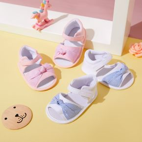 Baby / Toddler Bowknot Velcro Closure Sandals