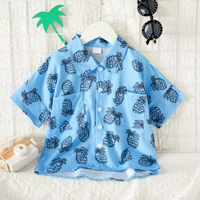 Chemise & Smock Bambin Manche Courte Ananas Polyester