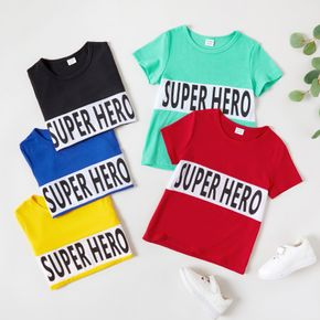 Kid Boy casual Letter  T-shirt