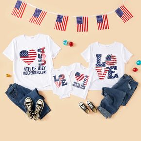 Independence Day Stripe and Star Family Matching T-shirts