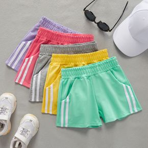 Multi Color Stripe  Shorts for Toddlers / Kids