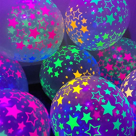 10-pack Colorful Flashing Luminous Balloon Lights for Christmas Wedding Birthday Party Decorations