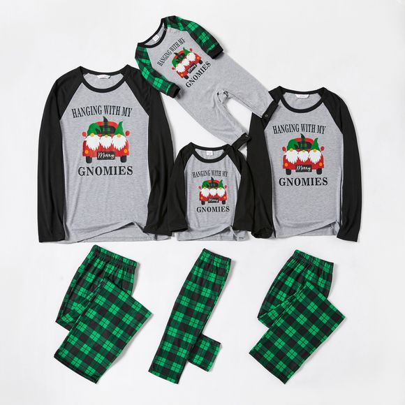 Christmas Shuttle Bus Family Matching Pajamas Sets(Flame resistant)